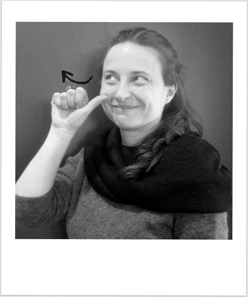 Photo et signe de Séverine Clément