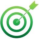 Image d'une cible verte