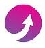 Flèche violette