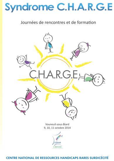 Couverture des actes des journées du syndrome CHARGE