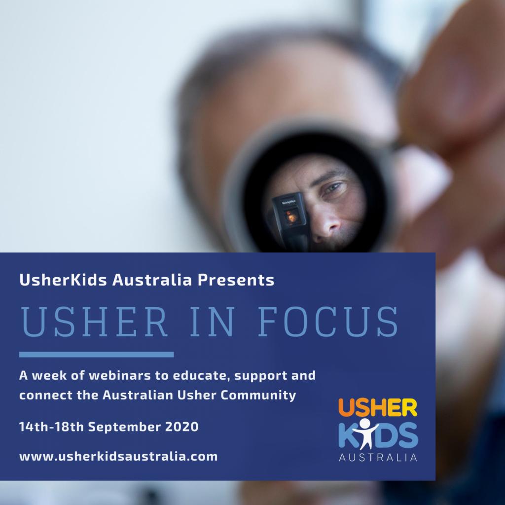 """Webinaires """"Usher in Focus"""""""